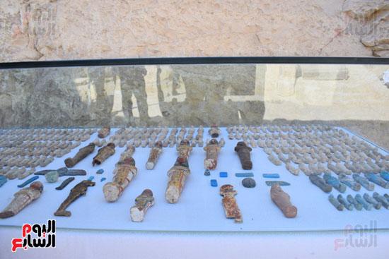 وزير الآثار يعلن اكتشاف مقبرة ثاو آر خت إف بالأقصر (29)