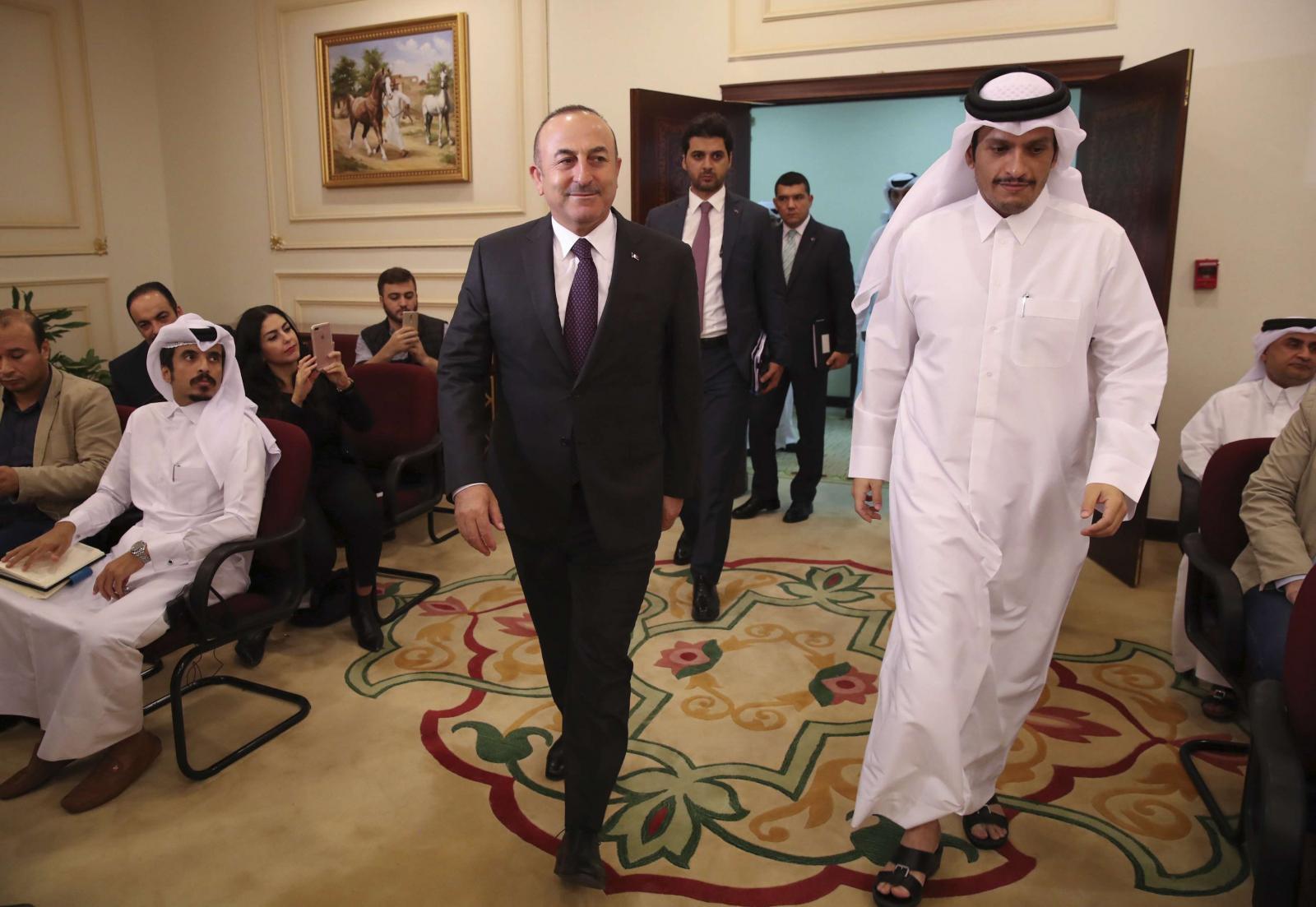 المصالح المتبادلة جمعت حكومتي قطر وتركيا سعيا للخروج من أزمتيهما