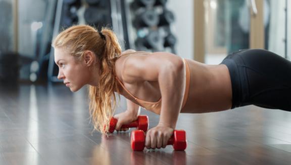 انقاص الوزن وتقوية العضلات