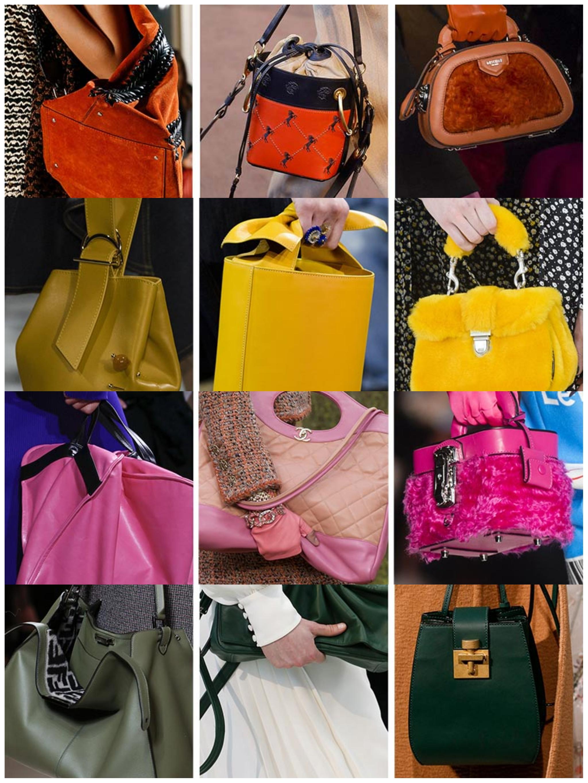 حقائب ملونة