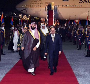 السيسى و محمد بن سلمان (2)