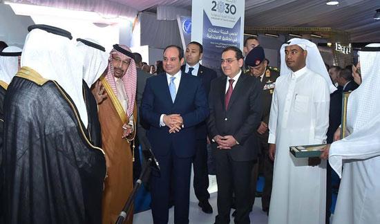 افتتاح المؤتمر العربى الدولى الخامس عشر للثروة المعدنية (1)
