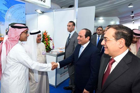 افتتاح المؤتمر العربى الدولى الخامس عشر للثروة المعدنية (4)