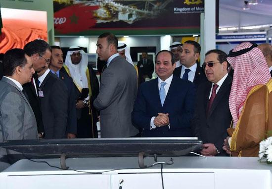 افتتاح المؤتمر العربى الدولى الخامس عشر للثروة المعدنية (7)