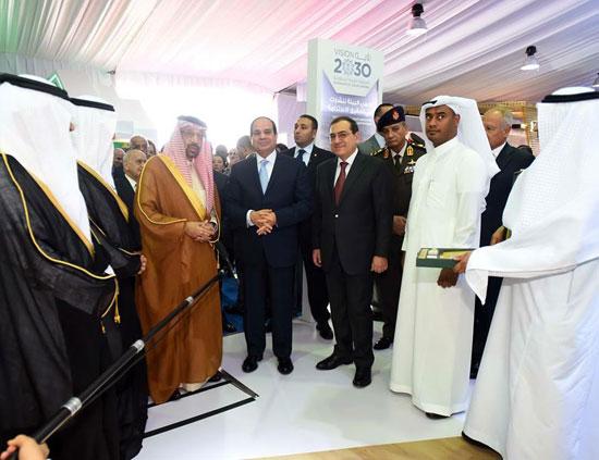 افتتاح المؤتمر العربى الدولى الخامس عشر للثروة المعدنية (2)