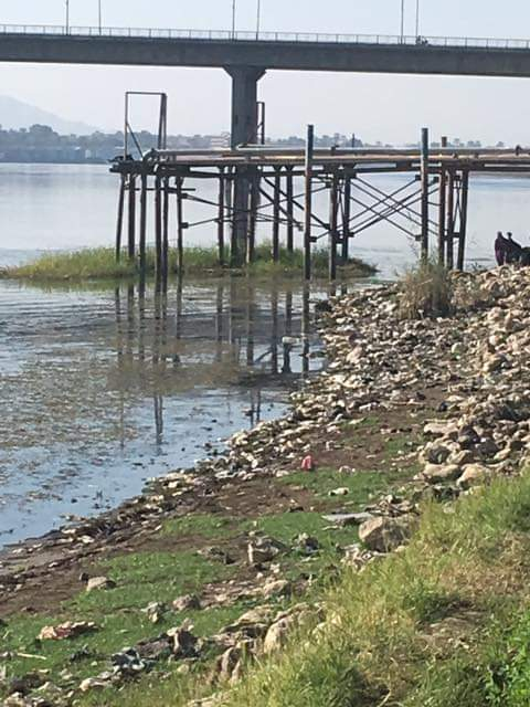 تلوث بنهر النيل