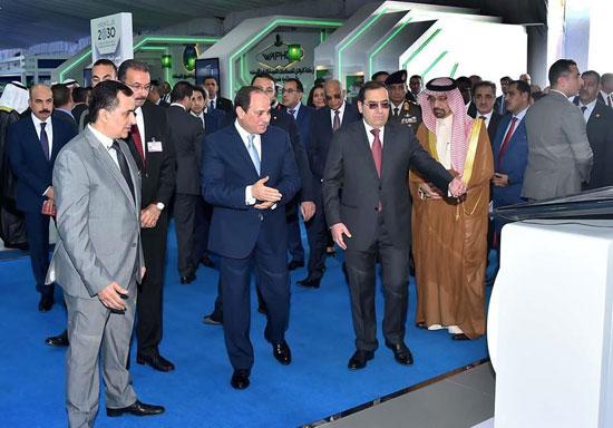افتتاح المؤتمر العربى الدولى الخامس عشر للثروة المعدنية (3)