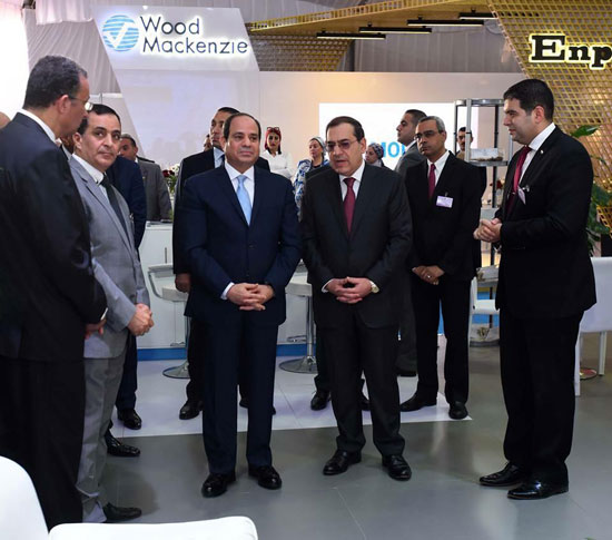 افتتاح المؤتمر العربى الدولى الخامس عشر للثروة المعدنية (5)