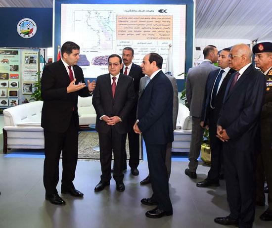 افتتاح المؤتمر العربى الدولى الخامس عشر للثروة المعدنية (8)