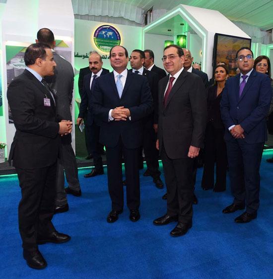 افتتاح المؤتمر العربى الدولى الخامس عشر للثروة المعدنية (6)