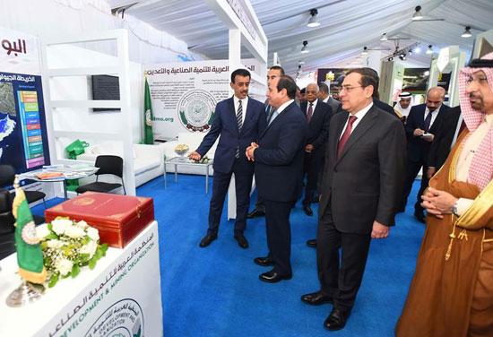 افتتاح المؤتمر العربى الدولى الخامس عشر للثروة المعدنية (9)