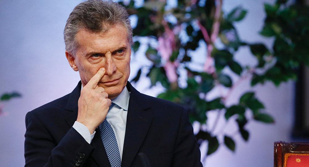 الرئيس الأرجنتيني ماكري