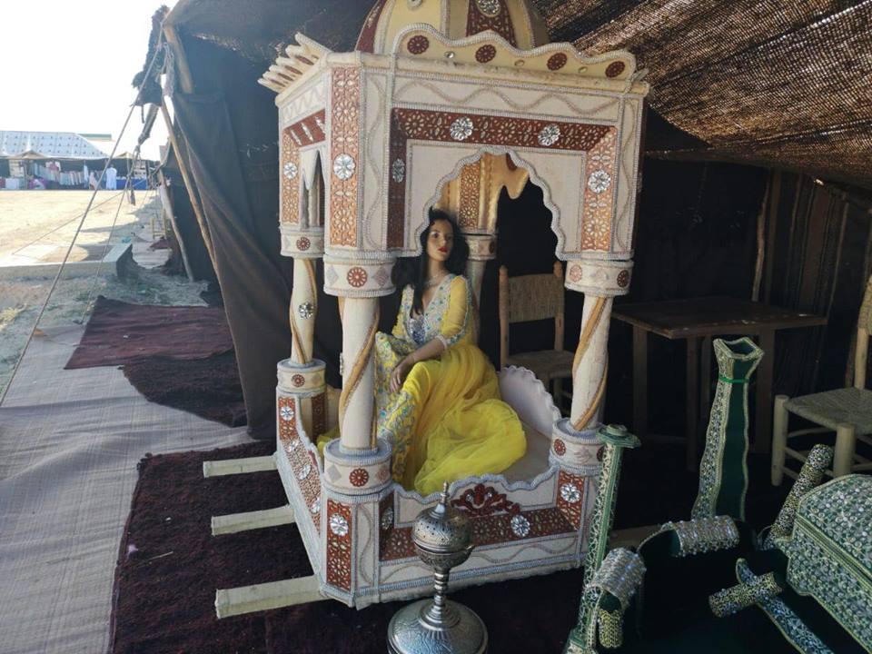 العروسة في العمارية المغربية
