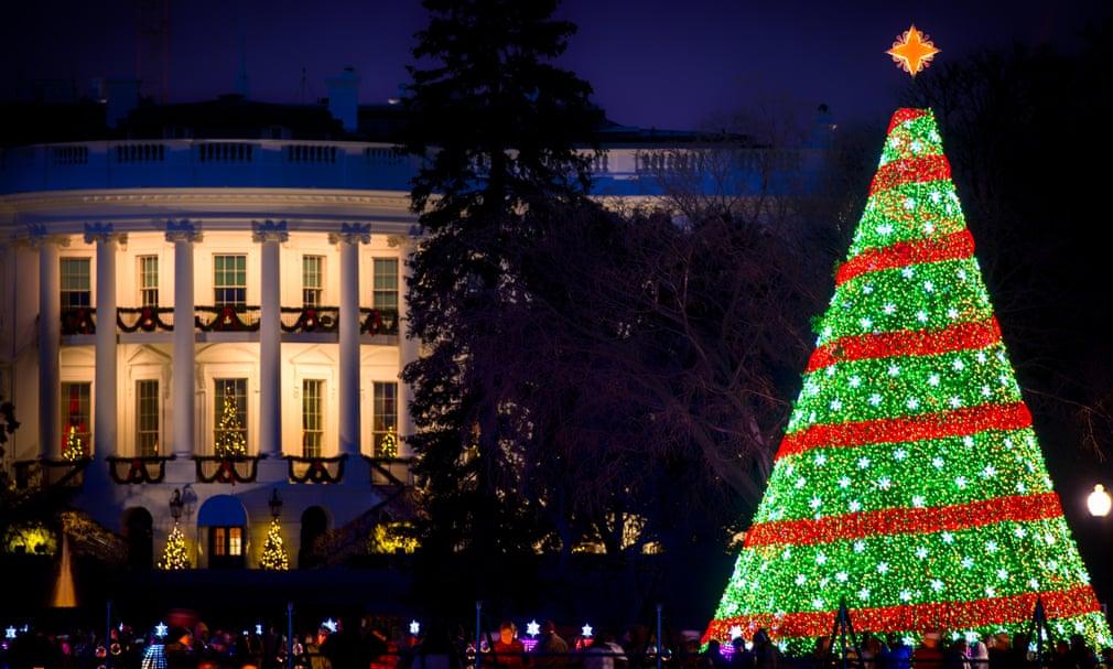 شجرة الكريسماس فى البيت الأبيض لعام 2014