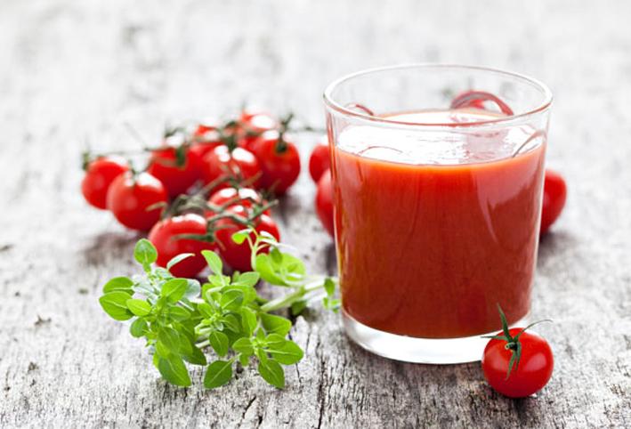 عصير طماطم