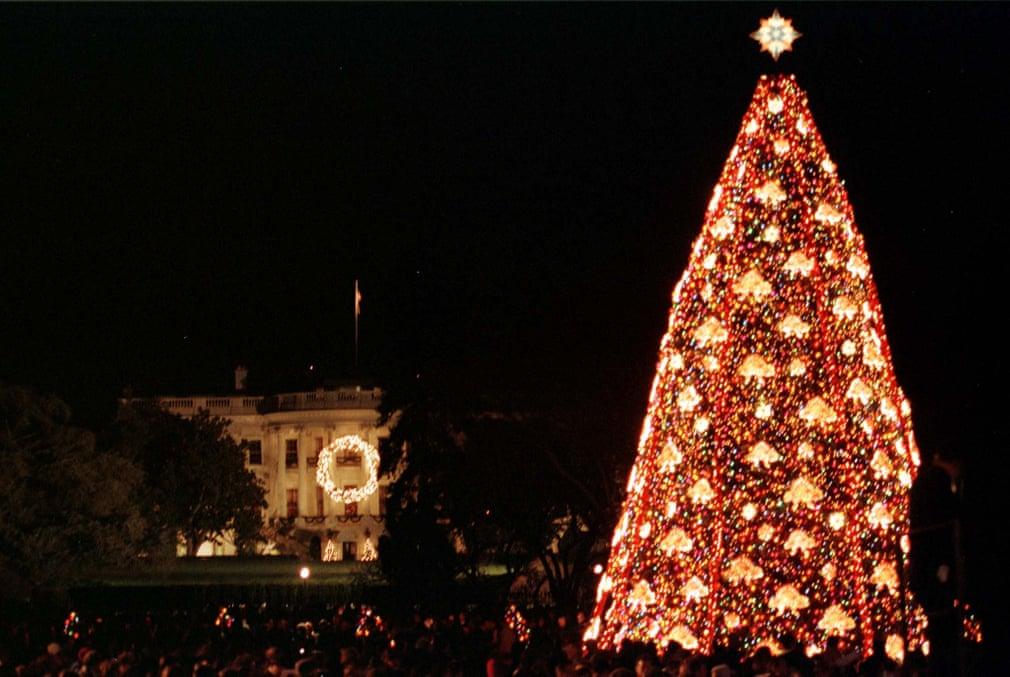 شجرة كريسماس البيت الأبيض لعام 1999