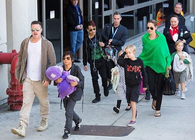 Children of Brad and Angelina