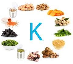 مصاد رالطعام من فيتامين k