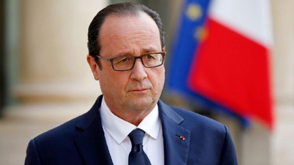 الرئيس الفرنسى السابق فرانسوا هولاند