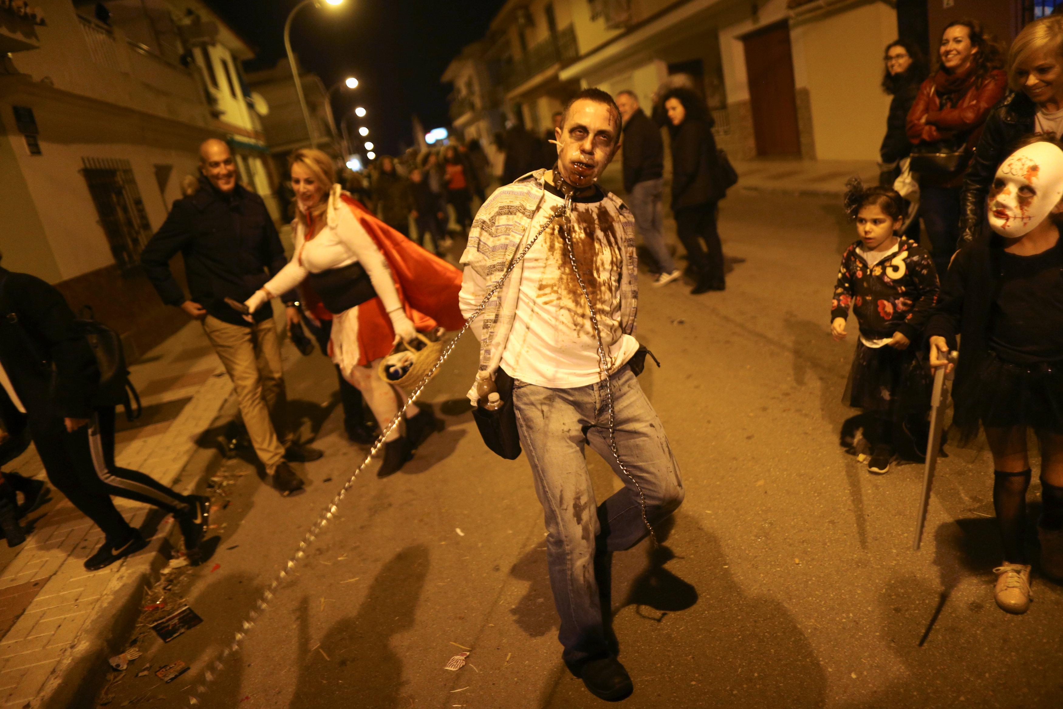 الرعب فى اسبانيا