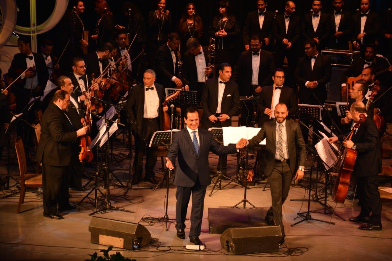 محمد ثروت يفتتح حفلات مهرجان الموسيقى العربية (4)