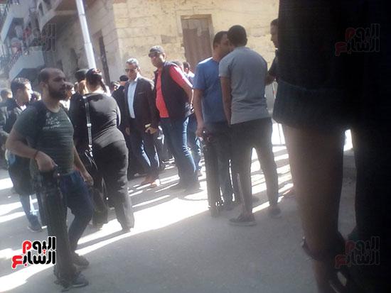 صلوات الجنازة على جثامين شهداء حادث المنيا بكنيسة الأمير تادرس (29)