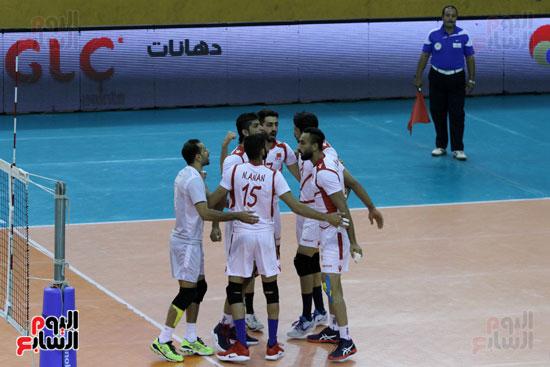 صور و فيديو .. منتخب الطائرة يهزم البحرين 3  1 ويتوج بالبطولة العربية  (23)