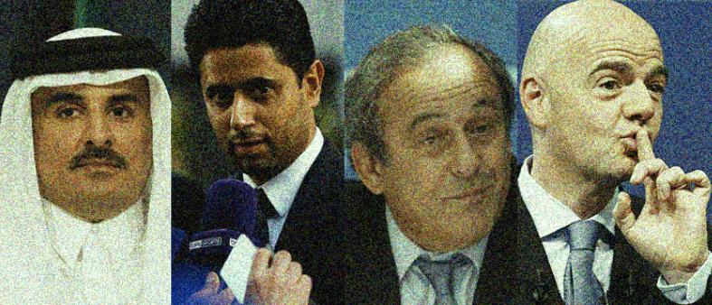 رشاوى قطرية تهز باريس سان جيرمان