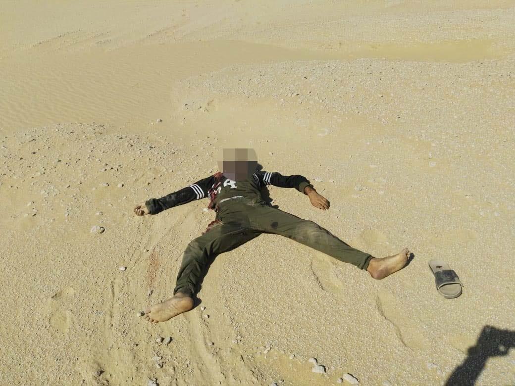 عناصر الخلية الإرهابية المتورطين فى حادث دير الأنبا صموائيل (11)