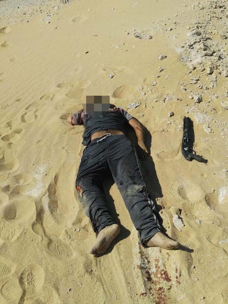 عناصر الخلية الإرهابية المتورطين فى حادث دير الأنبا صموائيل (3)
