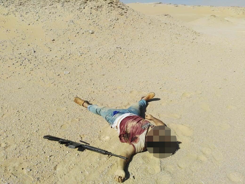 عناصر الخلية الإرهابية المتورطين فى حادث دير الأنبا صموائيل (7)