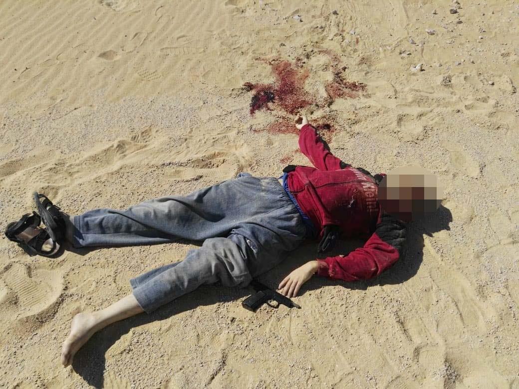عناصر الخلية الإرهابية المتورطين فى حادث دير الأنبا صموائيل (8)