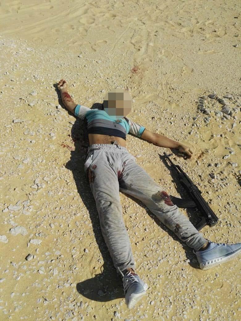 عناصر الخلية الإرهابية المتورطين فى حادث دير الأنبا صموائيل (17)