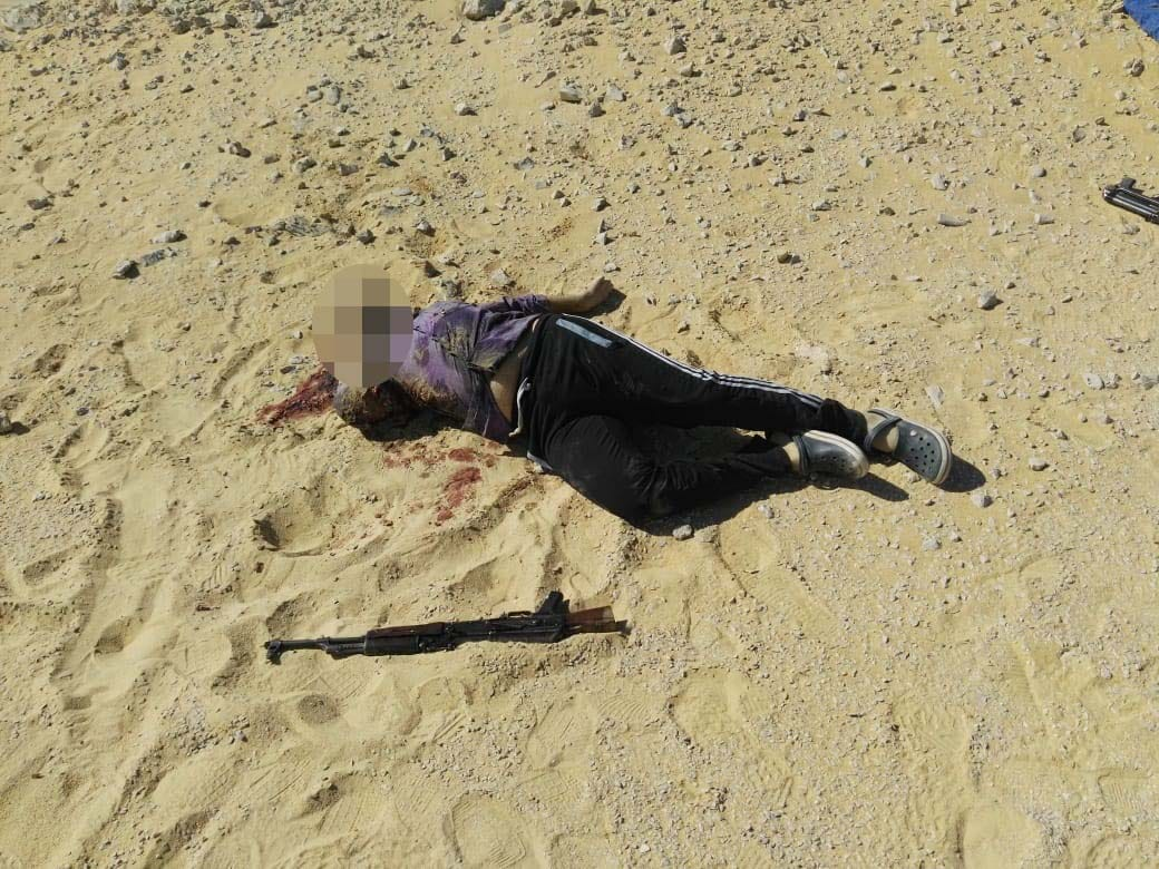 عناصر الخلية الإرهابية المتورطين فى حادث دير الأنبا صموائيل (5)