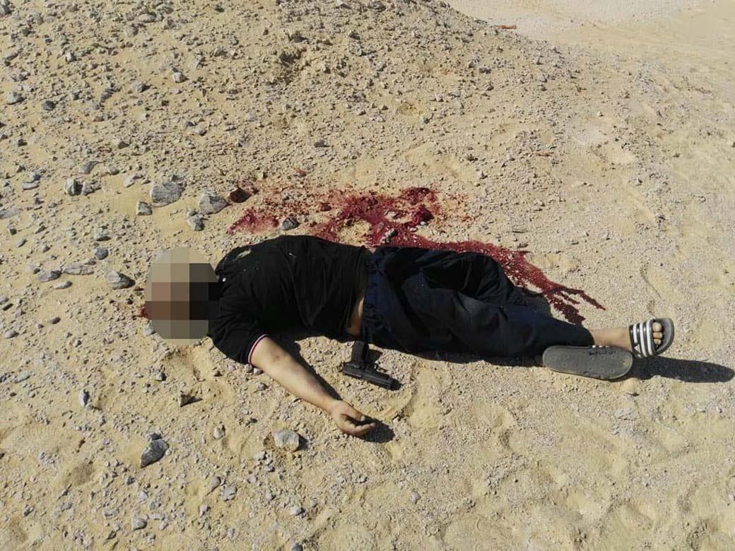 عناصر الخلية الإرهابية المتورطين فى حادث دير الأنبا صموائيل (19)