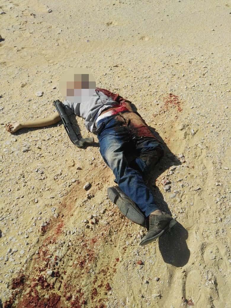 عناصر الخلية الإرهابية المتورطين فى حادث دير الأنبا صموائيل (4)
