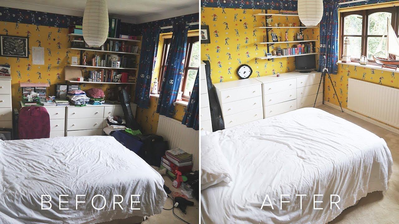 تخلصى من فوضى غرفة النوم