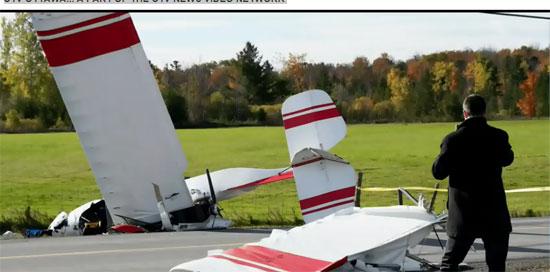 تصادم طائرتين (1)