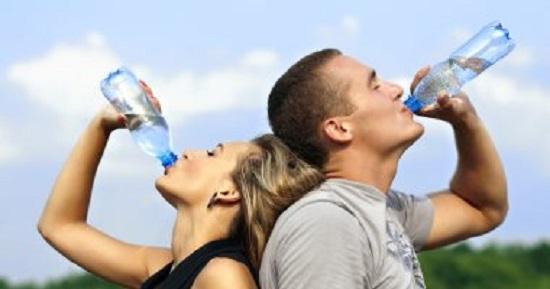 شرب مياه