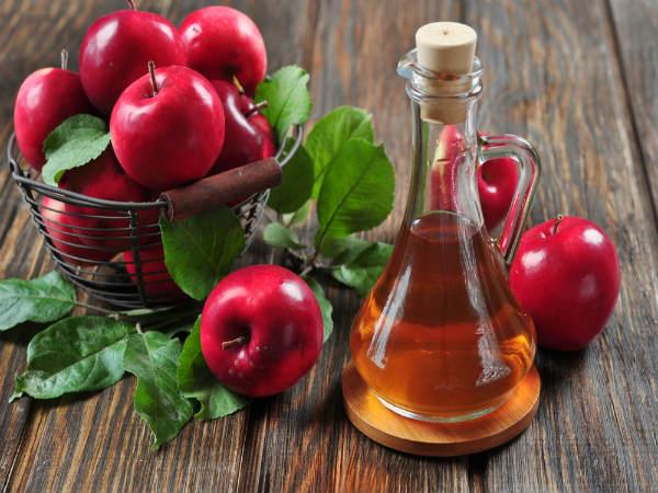 خل التفاح مع زيت جوز الهند