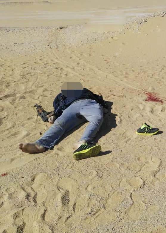 عناصر الخلية الإرهابية المتورطين فى حادث دير الأنبا صموائيل (18)