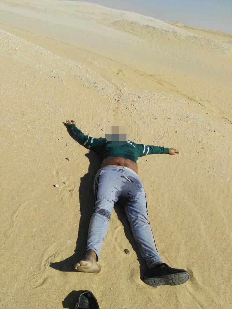 عناصر الخلية الإرهابية المتورطين فى حادث دير الأنبا صموائيل (14)