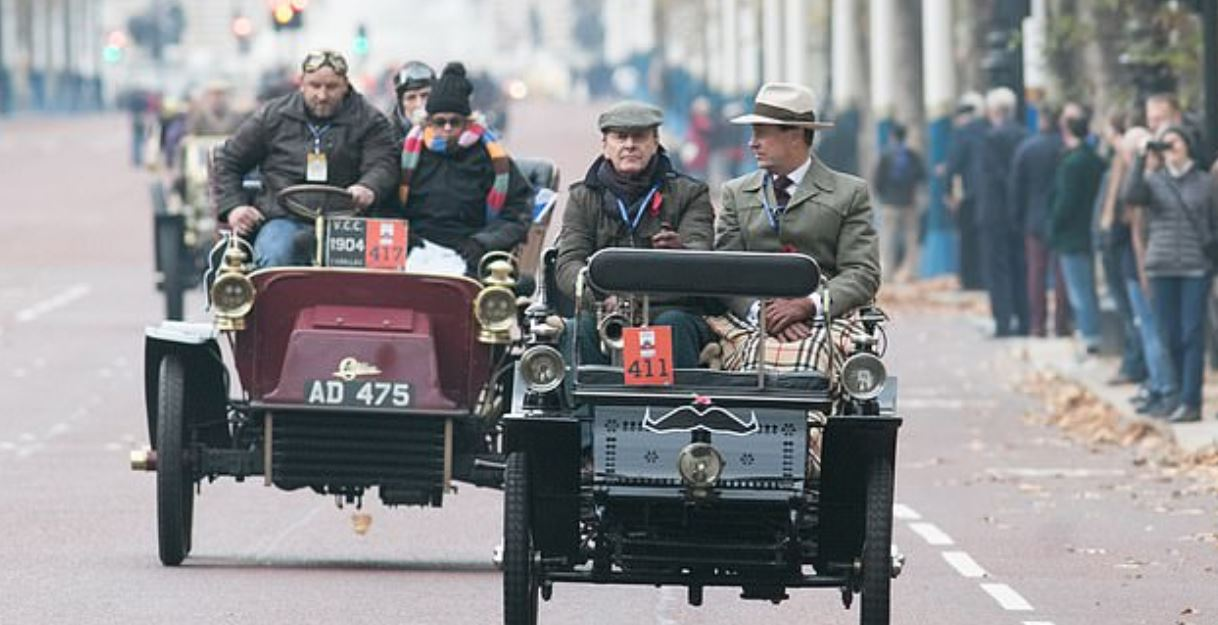 سباق السيارات فى لندن (6)
