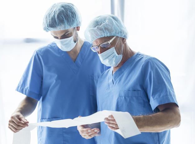 الاقنعة المخصصة للاطباء