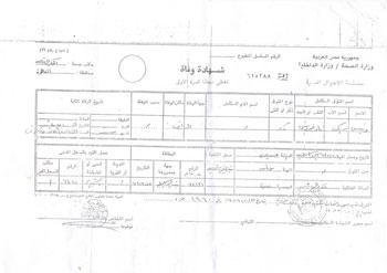 سرة شرقاوية تبحث عن مستحقات الأب المتوفى بالعراق فى إصابة عمل (1)