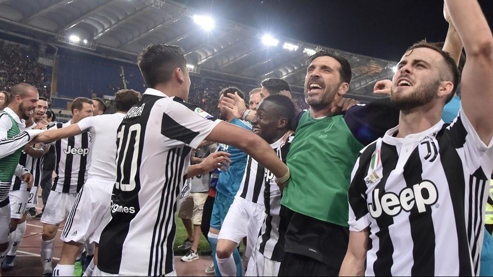 يوفنتوس حامل لقب الدوري الإيطالي اخر 7 مواسم