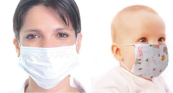 قناع للحماية من االنفلونزا