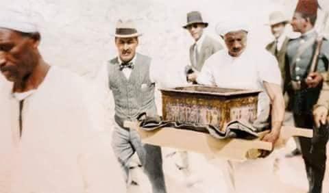 اكتشاف مقبرة توت عنخ آمون (3)