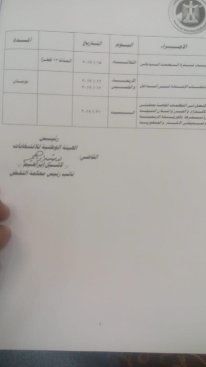 الهيئة الوطنية للانتخابات (1)