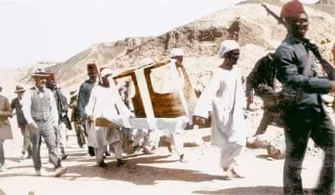 اكتشاف مقبرة توت عنخ آمون (11)